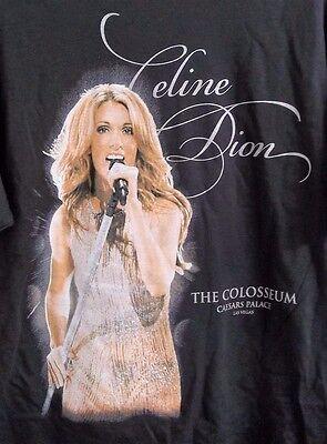 Celine Dion Caesars Palace Las Vegas Colosseum T Shirt