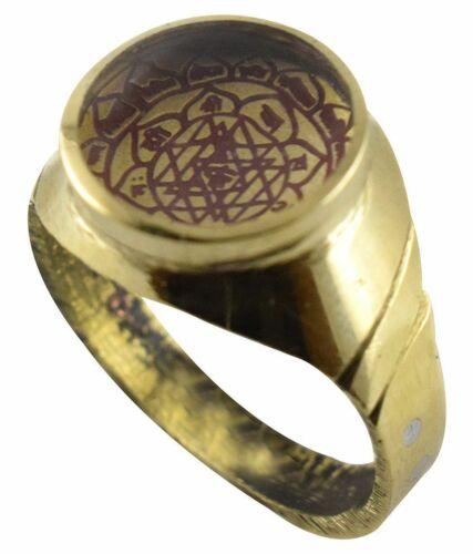 Shree Yantra / Ashtadhatu Shri Yantra Ring for wealth , prosperity and success