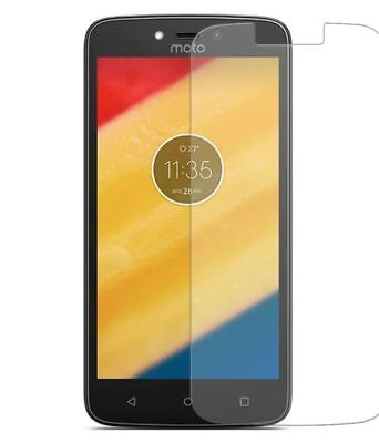 Motorola Moto C 100% Genuine Bubble Free Tempered Glass 9H Film Screen Protector