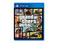 Ps4 game mint condition like new/ GTA 5 / cash or swaps