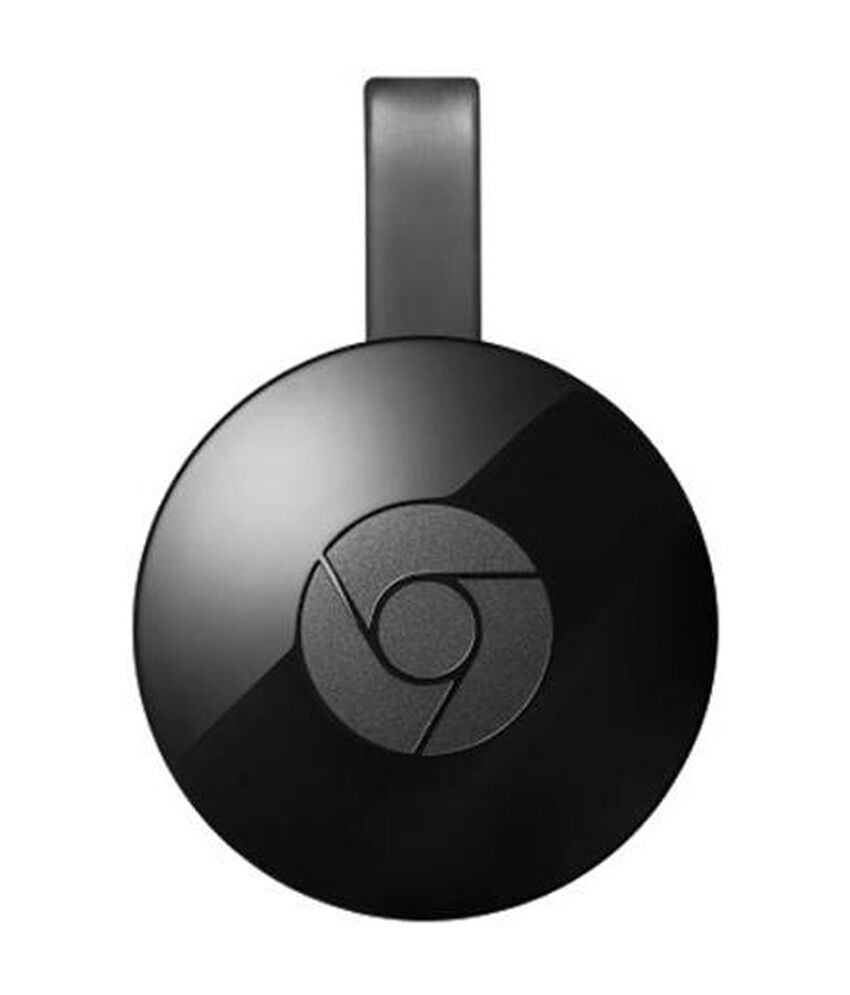 Google Chromecast 2 Media Streaming Device Player Black 2 nd Generation HDMI BY Ebay @ Rs.2,970