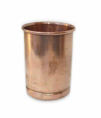 Kupfer-glas (100% reines Kupfer Glas Handgefertigte ayurvedischen Trinkbecher Aufbewahren )