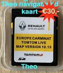 Renault Carminat live SD TomTom Update Europa 2020 + 2021 !!