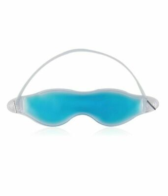 Cooling Gel Eye Mask Hot Cold Blue Pain Stress Relief Muscle Relaxing Sleep UK