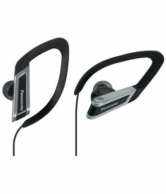 Panasonic RP-HS200-K In-the-ear Clip Type Water Resistant Sport Earphones, Black