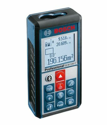 Bosch Glm 100c Laser Distance Meter Android And Ios Devices Expedite Shipping
