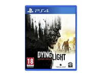 Dying Light PS4 game. Boxed in perfect condition