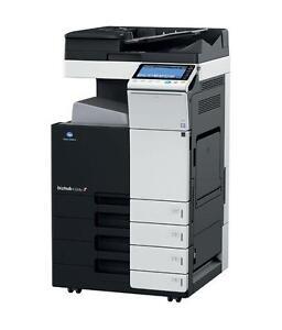 Konica Minolta Bizhub C224e Color Copier Printer Scanner Photocopier Copy Machine - RENT BUY Copiers Printers