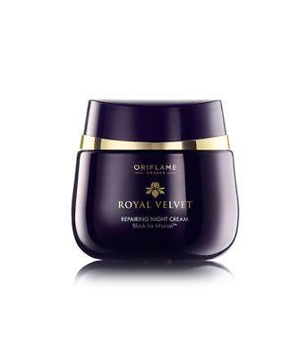 Oriflame Royal Velvet Repairing Night Cream 50ml For All Skin Types Best