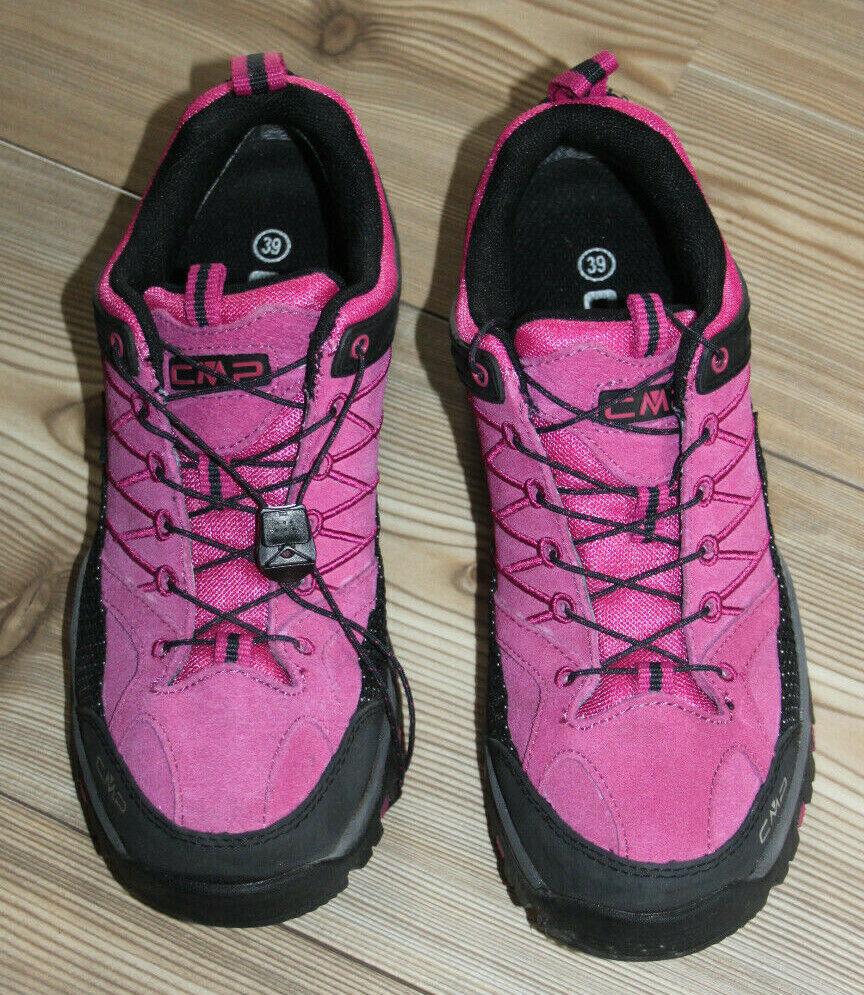 CMP Damen Trekkingschuhe - pink / schwarz Gr. 39 Wanderschuhe Outdoor Halbschuh