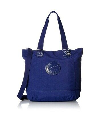 NEW Kipling TM5500 Shopper Combo tote shoulder across body bag Berry Blue Rrp£90
