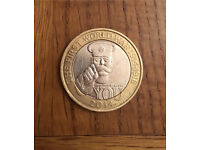 WW1 lord kitchener £2 coin