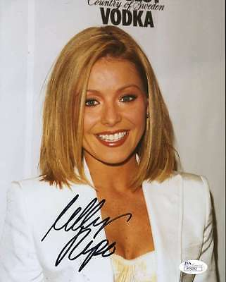 Kelly Ripa Jsa Coa Hand Signed 8X10 Photograph Authenticated Autograph