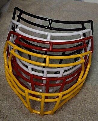 Riddell Speed Football Helmet  Facemask - YELLOW, RED, WHITE, or BLACK ](Red Football Helmet)