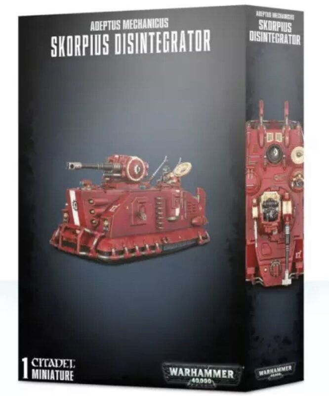 Adeptus Mechanicus Skorpius Disintegrator - Warhammer 40k NIB 59-20 Quick Ship