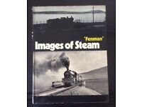 RAILWAY BOOK. IMAGES OF STEAM BY FENMAN FOR SALE