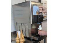 Ice cream machine, commercial grade Gel matic
