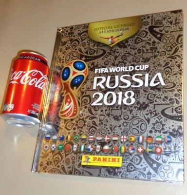 HARDCOVER PLATINUM ALBUM PANINI ⚽ FIFA WORLD CUP RUSSIA 2018 MEXICO MEXICAN ⚽