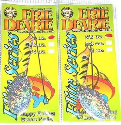 Erie Dearie Lures Hog Hunter Jigs 1//64 Lot of 2 *NEW* Assorted