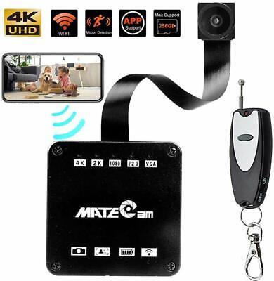 Real 4K Ultra HD DIY Wireless Hidden Camera Security Remote System Mini DVR