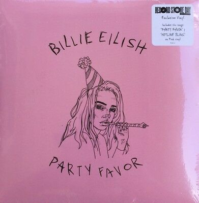 "Billie Eilish - Party Favor/Hotline Bling Vinyl 7"" - Record Store Day RSD 2018"