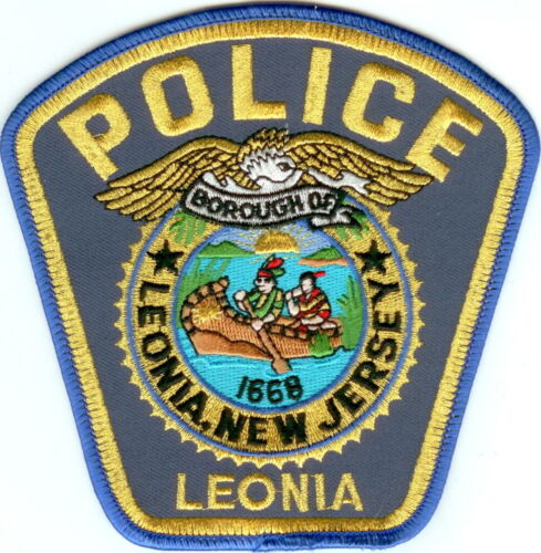 Leonia Police New Jersey NJ  patch