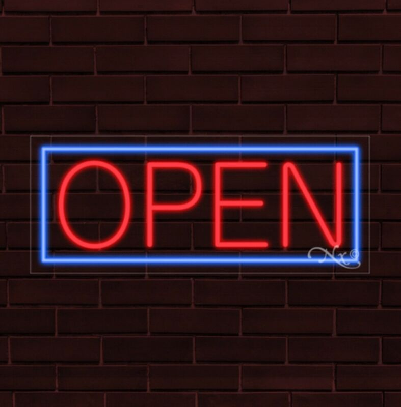 "Open LED Flex Sign 32"" x 13"" [30001]"