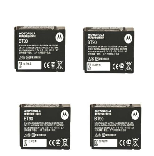 Motorola LI-ION Batteries HKNN4013A BT90 CLP1010 CLP1040 CLP1060 SL7550 QTY 4