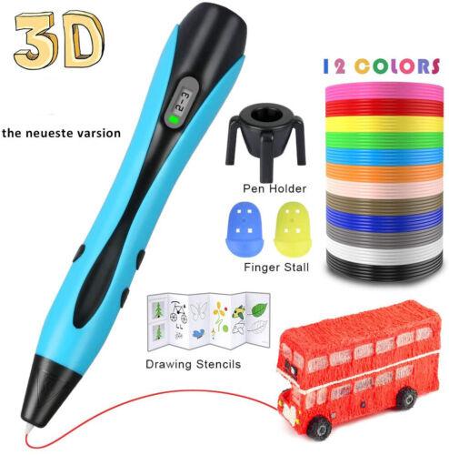 3D-Druckstift 3D Stereoscopic Printing Pen Für Kinder und Erwachsene Geeignet
