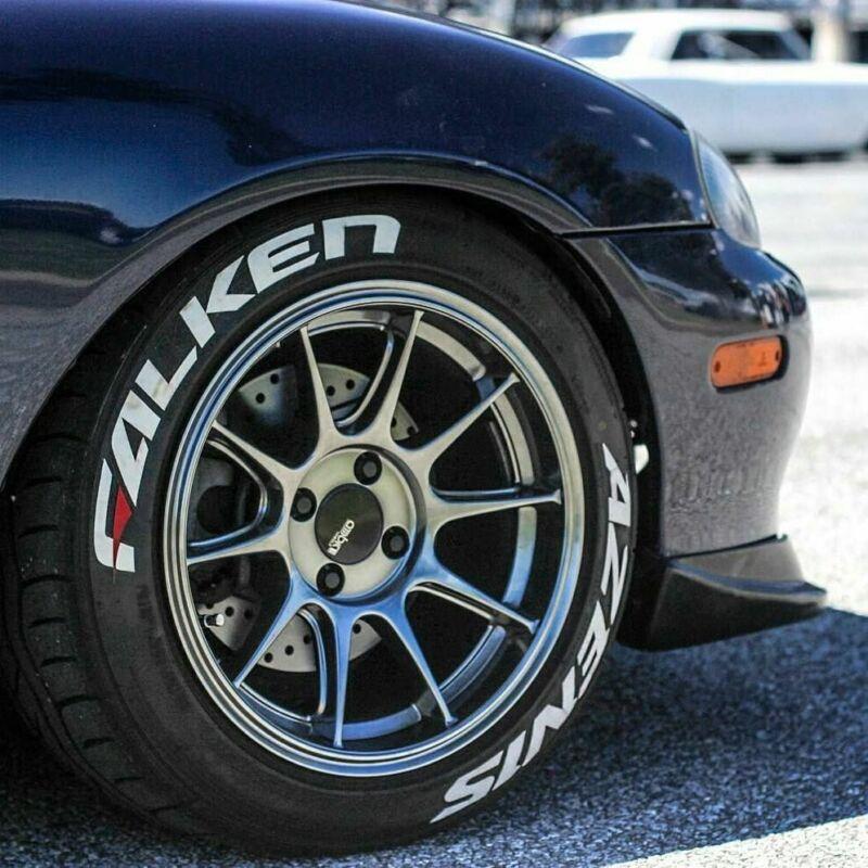 "permanent. tire lettering for 14/""----24/"" tire FALKEN 1,25/""  font height"