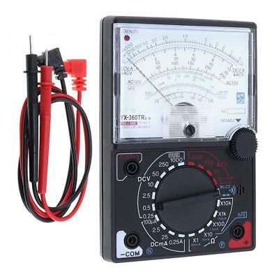 Yx-360trnb Analog Multimeter Voltmeter Amperemeter For Ac Dc Voltage Dc Current