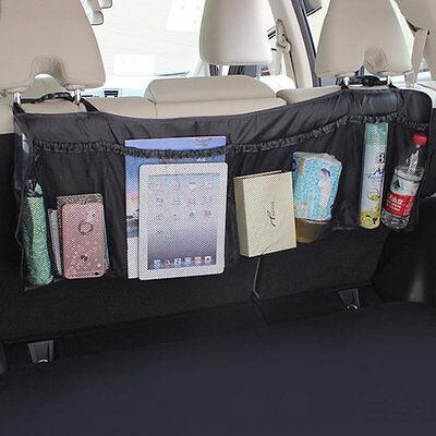 Car Auto Back Rear Trunk Seat Elastic String Net Mesh Storage Bag Bag Cage ZX