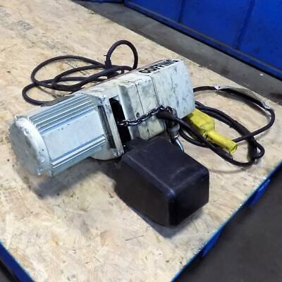 Coffing Hoists 18-ton Electric Hoist Jlc0232 3 5 Worn Label