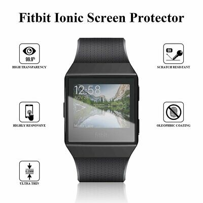 For Fitbit Ionic Watch Case Plating Silicon Shell Rubber Anti-Fall Sleeve KU Case Silicon Sleeve