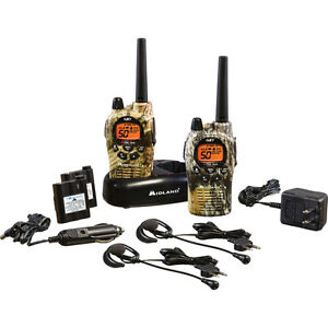 Midland GXT1050VP4 X-TRA TALK GMRS 36-Mile 50-Channel FRS/GMRS 2-Way Radio