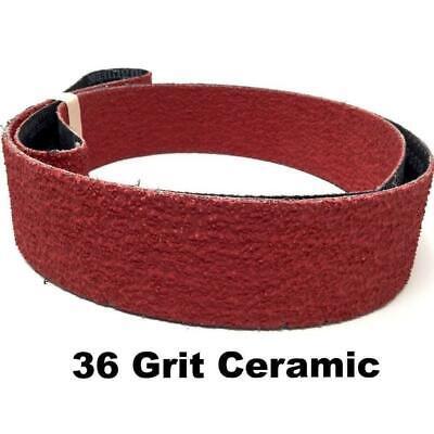 2 x 72  Sanding Belt Kit Assortment Variety Kit  45 Belts  #3