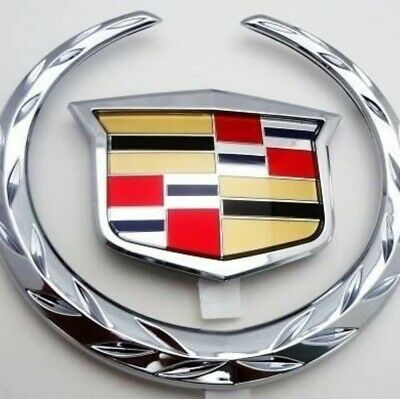 2002-2006 Cadillac Escalade EXT Rear Tailgate Emblem Set