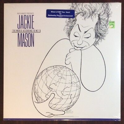 Jackie Mason The World According To Me LP Vinyl Brand New (Jackie Mason The World According To Me)