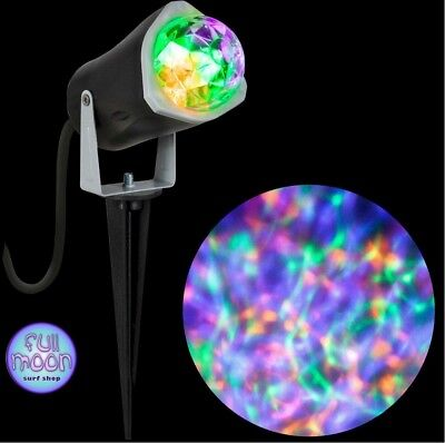 New Halloween LED Projection Orange Green Purple Gemmy Light Show Lightshow