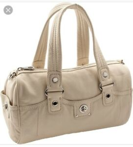 $428 MARC BY MARC JACOBS Totally Turnlock bag satchel grey