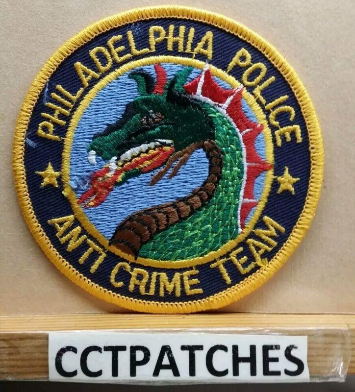 PHILADELPHIA, PENNSYLVANIA POLICE ANTI CRIME TEAM SHOULDER PATCH PA