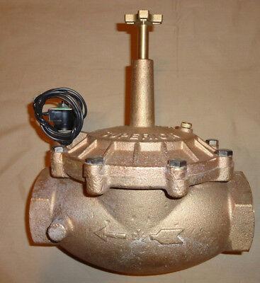 Superior Valve 2-12 Globe Valve 950 Brass Solenoid Irrigation 200psi New