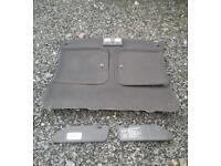 Toyota Mr2 mk2 t bar genuine black roof cloth with t bar panels sun visors and light