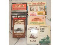 Great Western Railway Books x 11