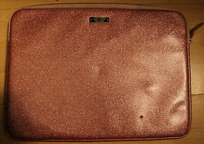 Kate Spade Zipped Laptop/Ipad Case,Gold, 36cm x 26cm - Used Condition with Flaws