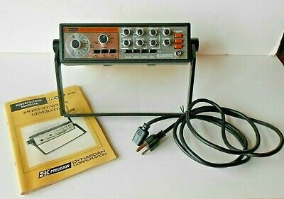 Bk Precision 3020 Sweep Function Generator With Manual