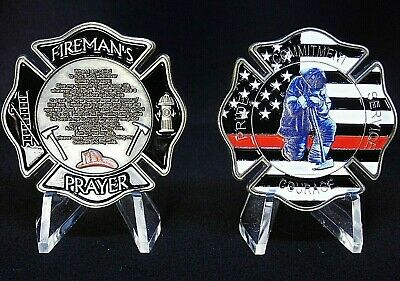 Firefighters Collectible Challenge Coin