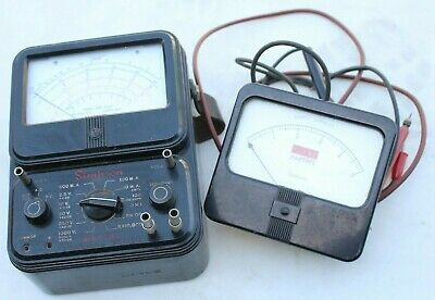 Vintage Simpson Model 260 Analog Multimeter 1000v 10a Ohms Amp Meter Steampunk