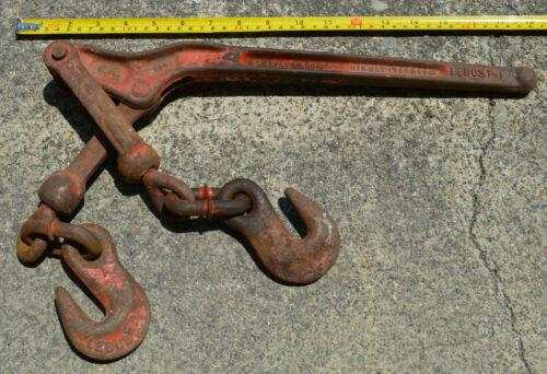 Vintage LEBUS 7-1 Chain Load Binder Heavy Duty 5400 lbs.