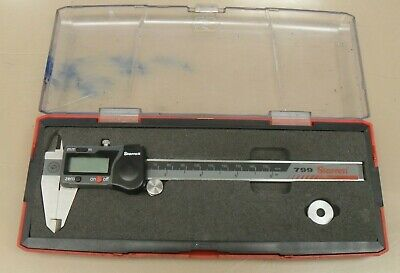 Starrett Model 799 Electronic Digital 6 Caliper With Case